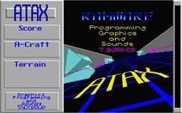 Title screen of Klax on the Atari ST.