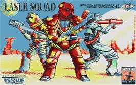 Title screen of Laser Squad on the Atari ST.
