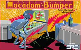 Title screen of Macadam Bumper on the Atari ST.