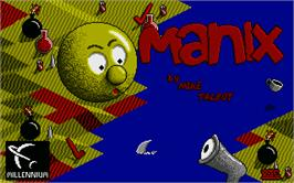 Title screen of Mad Mix on the Atari ST.