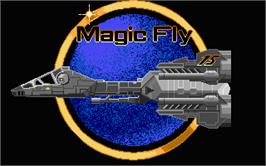 Title screen of Magic Fly on the Atari ST.