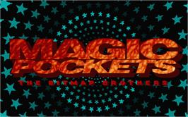 Title screen of Magic Pockets on the Atari ST.