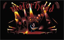 Title screen of Motorhead on the Atari ST.
