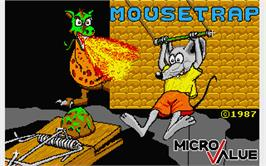 Title screen of Mouse Trap on the Atari ST.