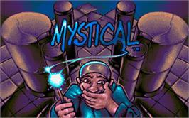 Title screen of Mystical on the Atari ST.