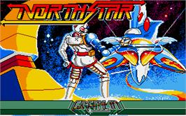Title screen of NorthStar on the Atari ST.