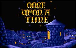 Title screen of Once Upon A Time: Abracadabra on the Atari ST.