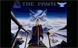 Title screen of Pawn on the Atari ST.