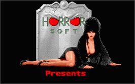 Title screen of Personal Nightmare on the Atari ST.