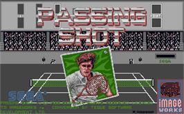 Title screen of Push 'n' Shove on the Atari ST.