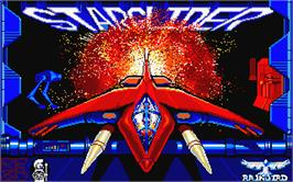 Title screen of Starglider on the Atari ST.