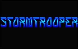 Title screen of Stormbringer on the Atari ST.