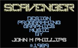 Title screen of Suspended on the Atari ST.