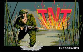 Title screen of TNT on the Atari ST.