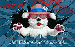 Title screen of Tass Times in Tonetown on the Atari ST.