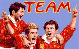 Title screen of Team on the Atari ST.