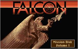 Title screen of Their Finest Missions: Volume One on the Atari ST.