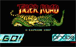 Title screen of Tiger Heli on the Atari ST.