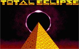 Title screen of Total Eclipse on the Atari ST.