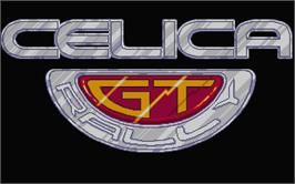 Title screen of Toyota Celica GT Rally on the Atari ST.