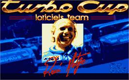 Title screen of Turbo Cup on the Atari ST.