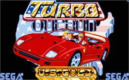 Title screen of Turbo Out Run on the Atari ST.