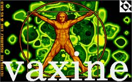 Title screen of Vaxine on the Atari ST.