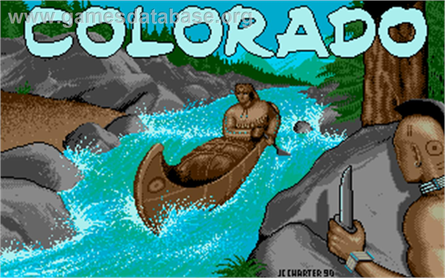 Colorado - Atari ST - Artwork - Title Screen