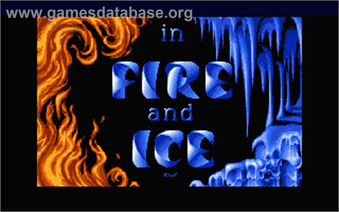 fire and ice atari st games database. Black Bedroom Furniture Sets. Home Design Ideas