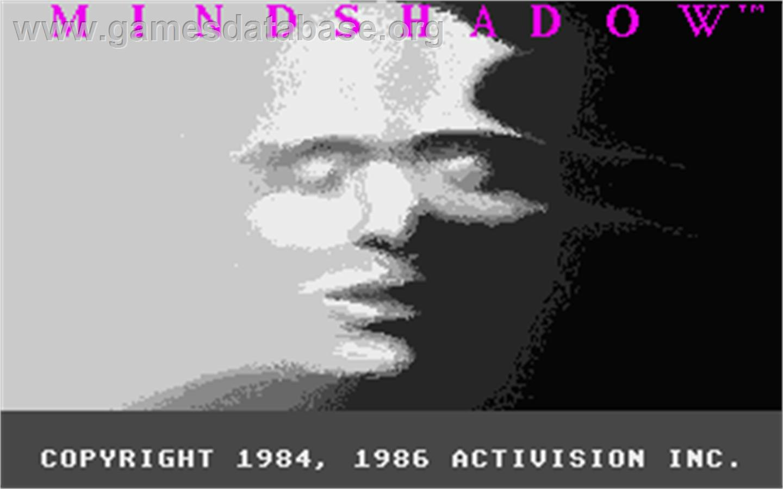 Title screen of Ninja Gaiden: Shadow on the Atari ST.