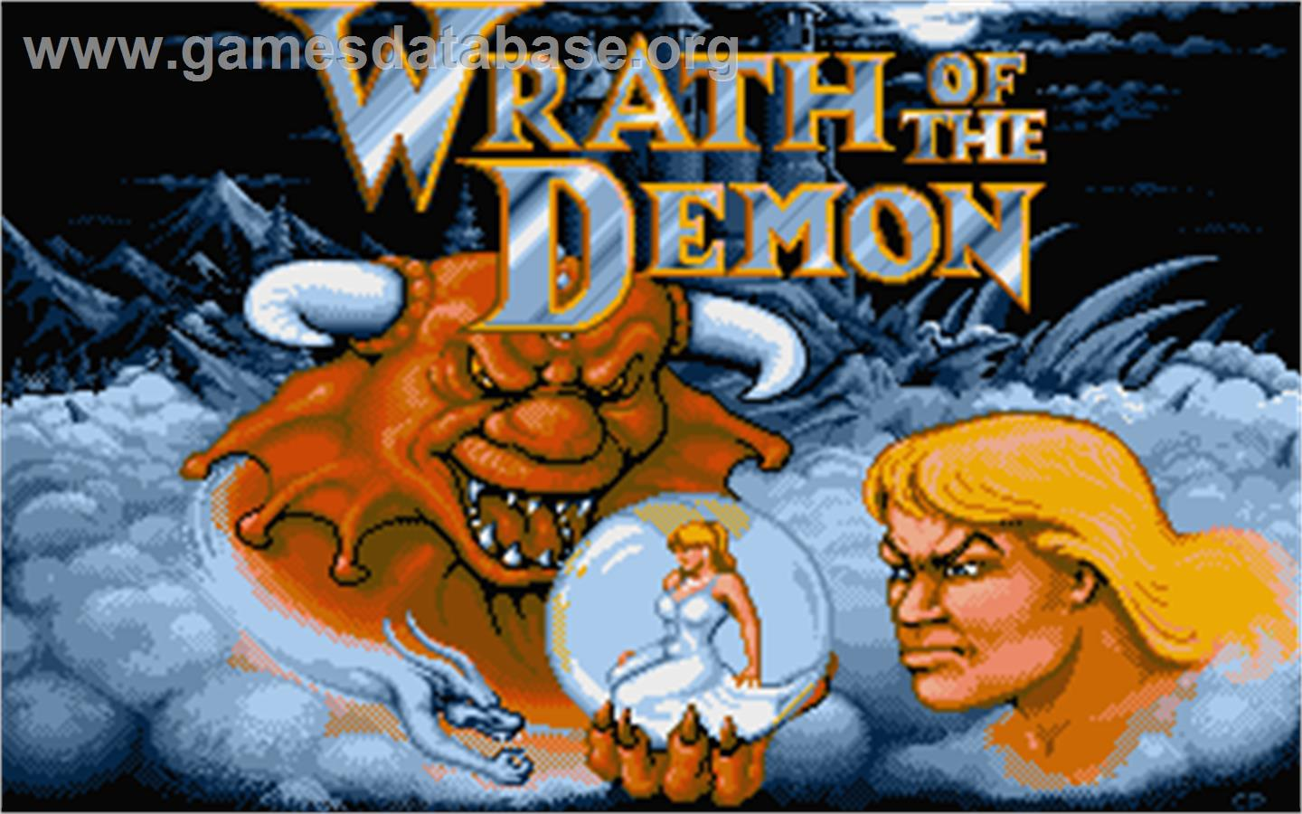 Wrath of the Demon - Atari ST - Artwork - Title Screen