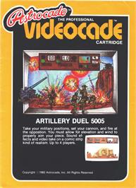 Box cover for Artillery Duel on the Bally Astrocade.