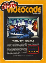 Box cover for Astro Battle on the Bally Astrocade.