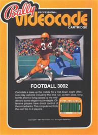 Box cover for Football on the Bally Astrocade.