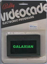 Box cover for Galaxian on the Bally Astrocade.