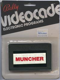 Box cover for Muncher on the Bally Astrocade.