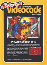 Box cover for Pirate's Chase on the Bally Astrocade.