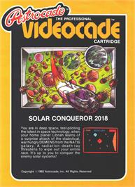 Box cover for Solar Conqueror on the Bally Astrocade.
