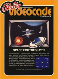 Box cover for Space Fortress on the Bally Astrocade.