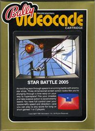 Box cover for Star Battle on the Bally Astrocade.