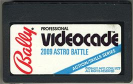 Cartridge artwork for Astro Battle on the Bally Astrocade.