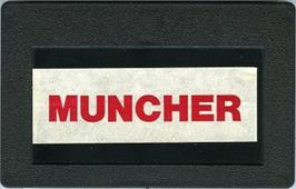 Cartridge artwork for Muncher on the Bally Astrocade.