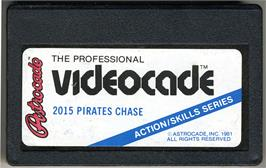 Cartridge artwork for Pirate's Chase on the Bally Astrocade.