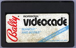 Cartridge artwork for Seawolf on the Bally Astrocade.