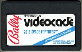 Cartridge artwork for Space Fortress on the Bally Astrocade.