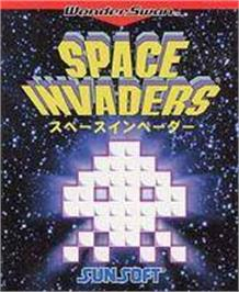 Box cover for Space Invaders on the Bandai WonderSwan.
