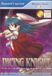 Box cover for Dicing Knight Period on the Bandai WonderSwan Color.