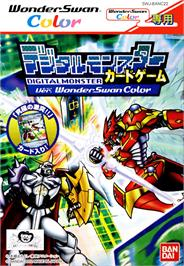 Box cover for Digimon Card Game: Ver. WonderSwan Color on the Bandai WonderSwan Color.
