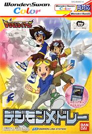 Box cover for Digimon Tamers: Digimon Medley on the Bandai WonderSwan Color.