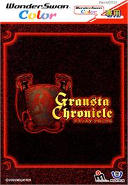 Box cover for Gransta Chronicle on the Bandai WonderSwan Color.
